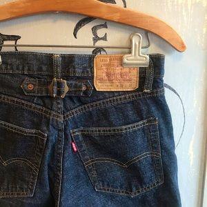 VERY RARE HTF Vintage Levi's 501 Jeans w/ Buckle